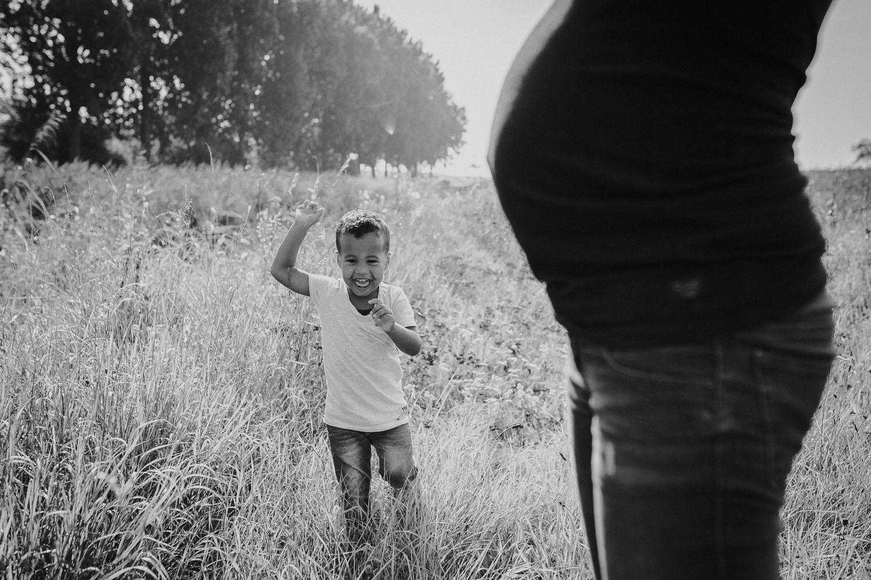 fotoshoot zwangerschap buiten