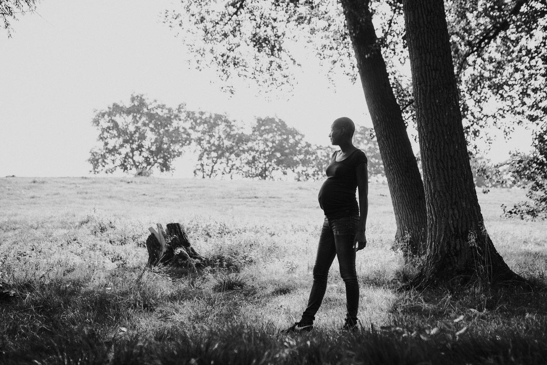stoere foto's zwangere vrouw