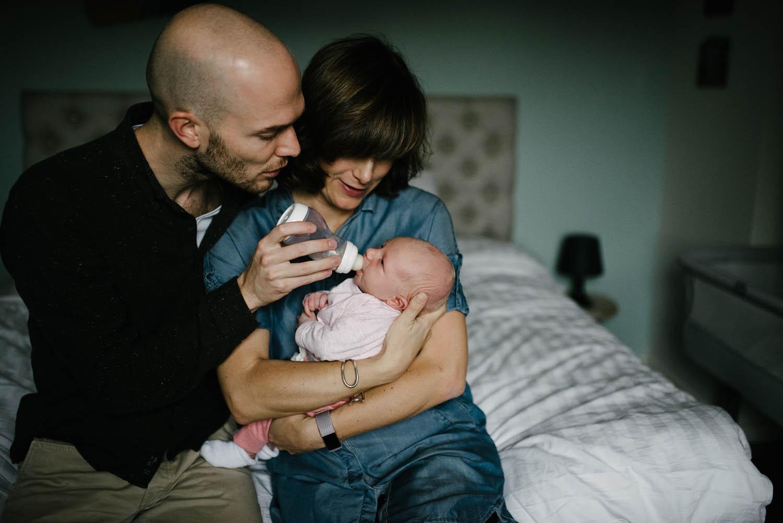 ongeposeerde newbornshoot Rosmalen