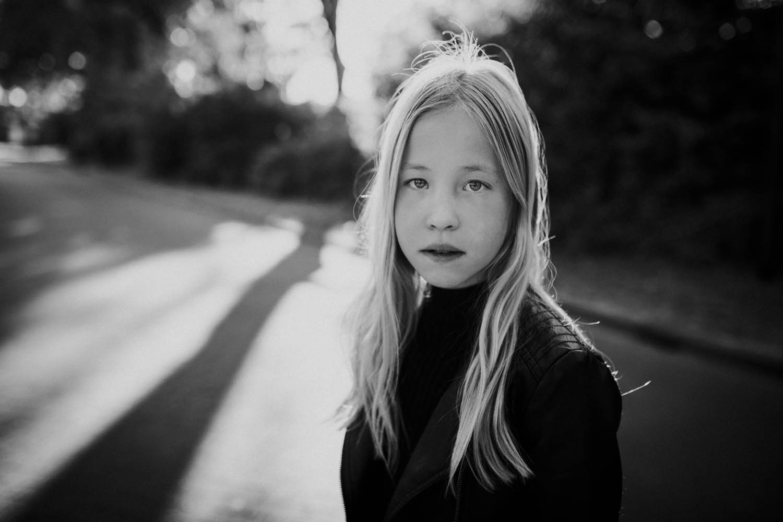 portretfotograaf kind buiten