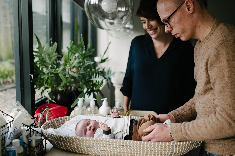 newbornshoot thuis ongeposeerd