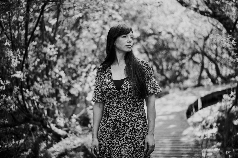 portretfotografie vrouw natuur