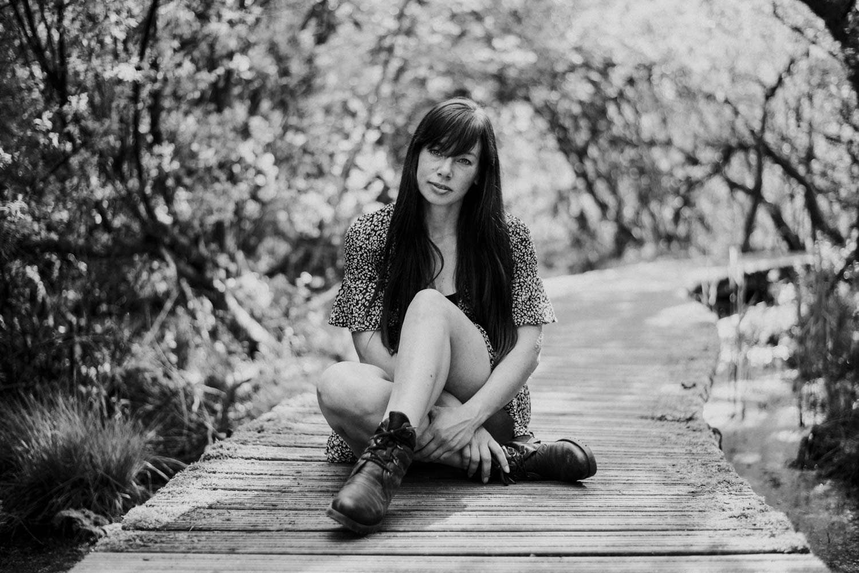 portretfotografie vrouw buiten
