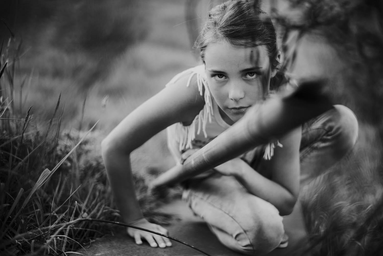 stoere kinderfoto portret