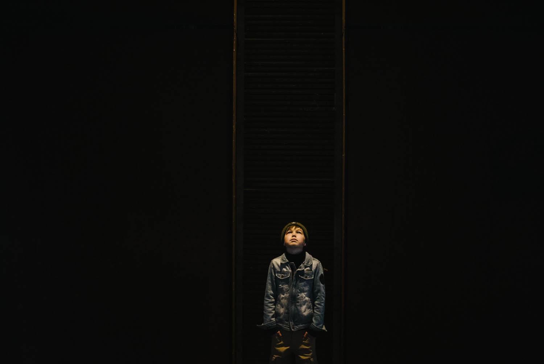 portret jongen creatief
