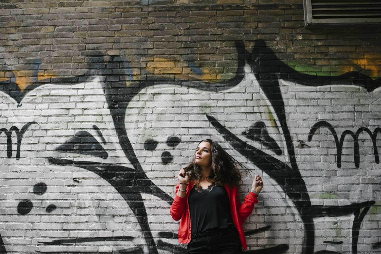 stoer urban industrieel portretshoot