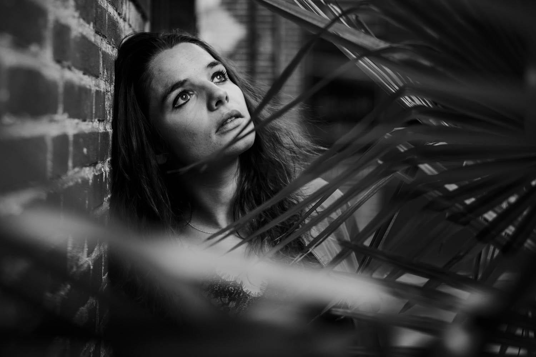 fotoshoot portret vrouw