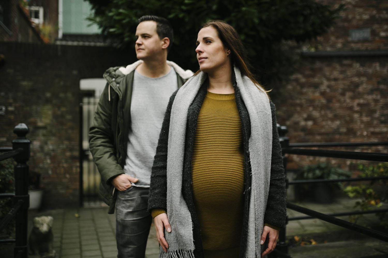 stoere foto's zwangerschap