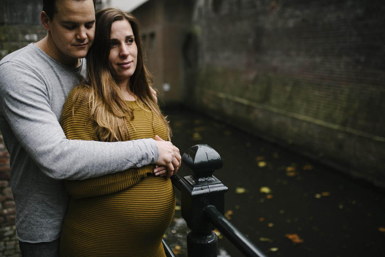 stoere foto's zwanger