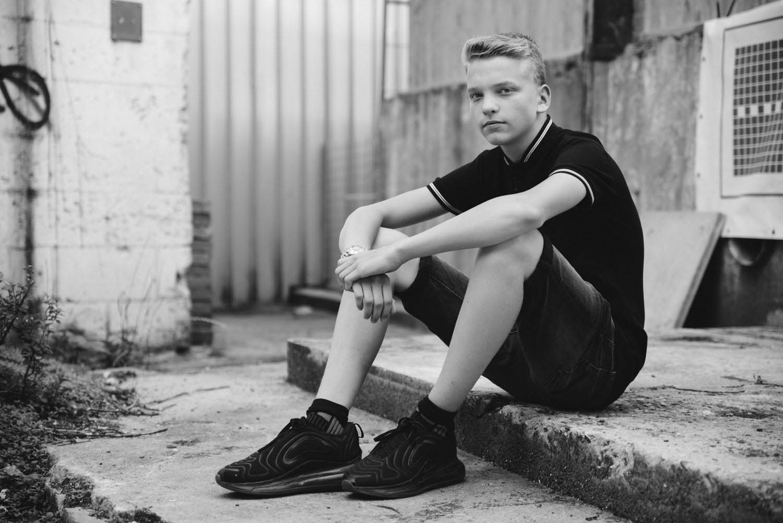 stoere foto's tiener portret Den Bosch