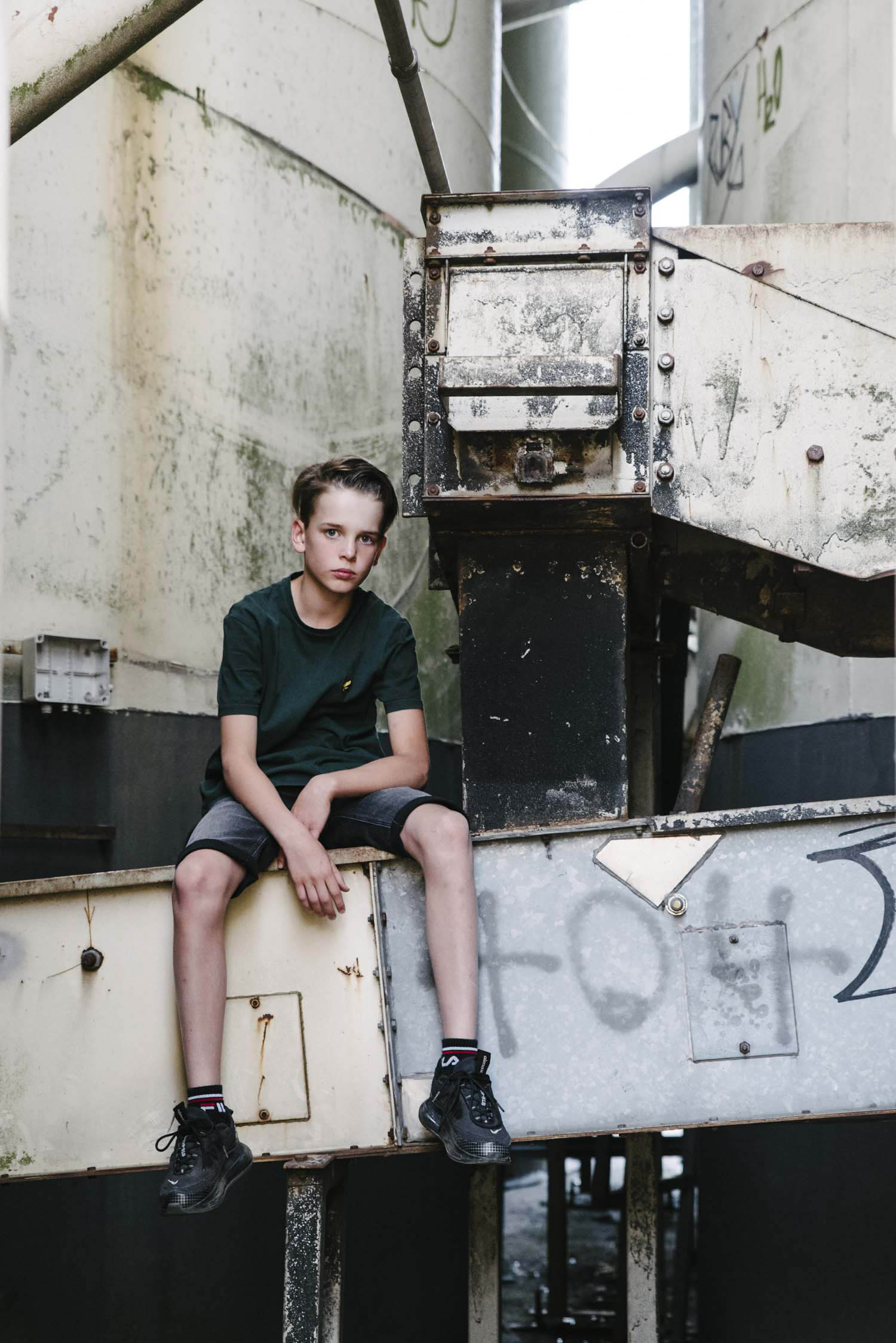 kinderportret jongen stoer fotograaf Den Bosch